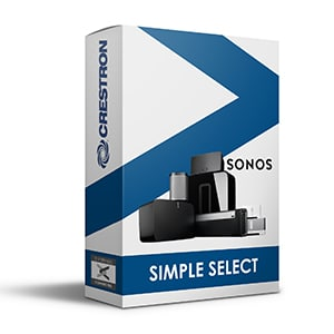 crestron sonos simple select