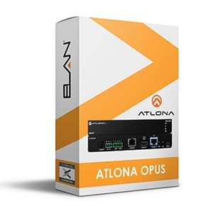 atlona opus driver for elan