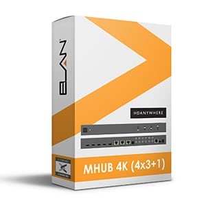 hdanywhere mhub 4x3+1 for elan