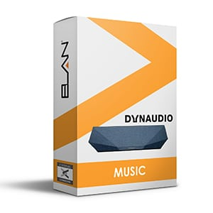 dynaudio music driver for elan