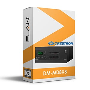 crestron DM-MD8x8 for elan