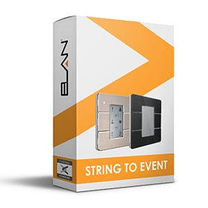 string to event