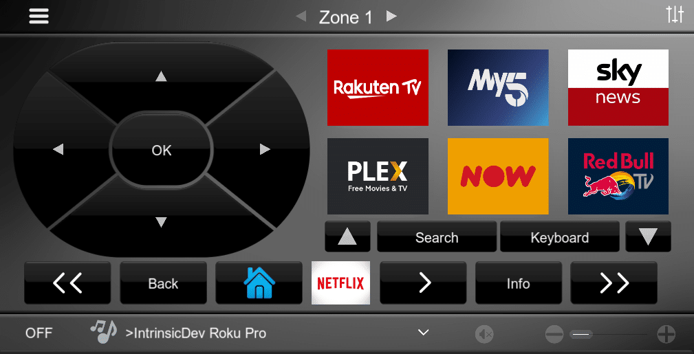 Roku Pro Driver for Elan Channel Interface