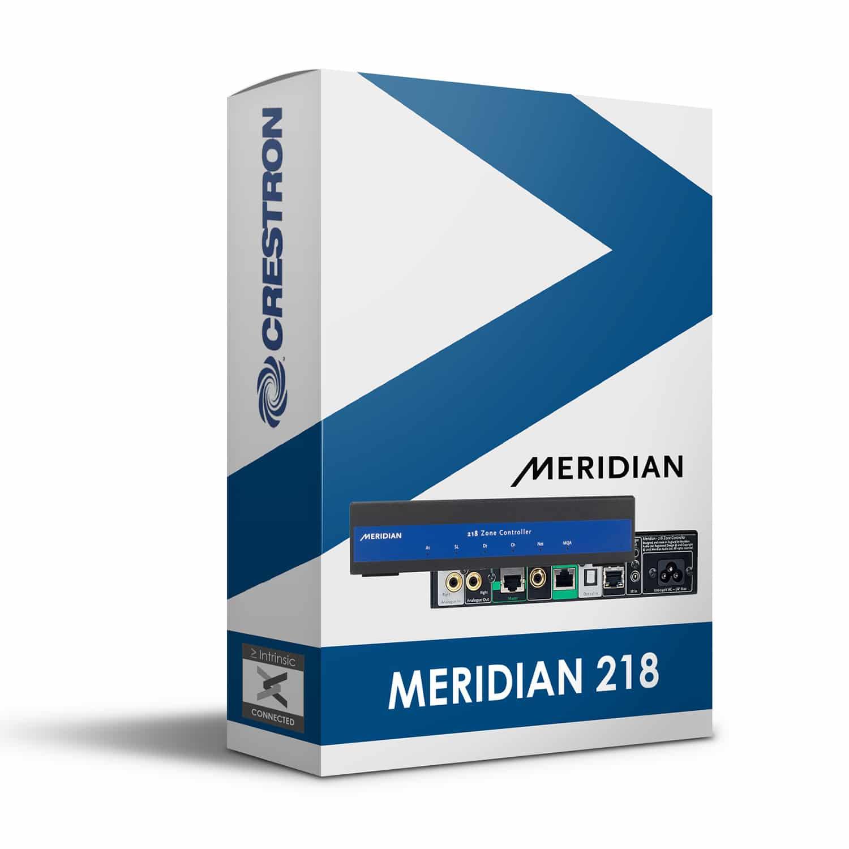Meridian 218 IP Module for Crestron