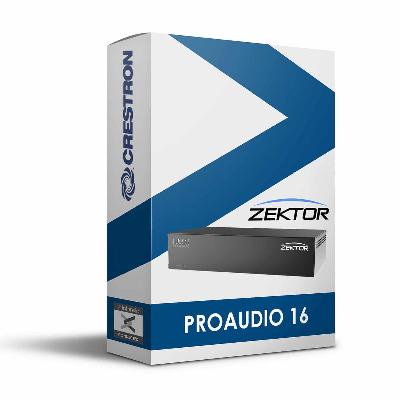Zektor ProAudio 16 Module for Crestron