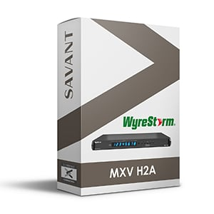 WyreStorm MXV H2A Profile for Savant