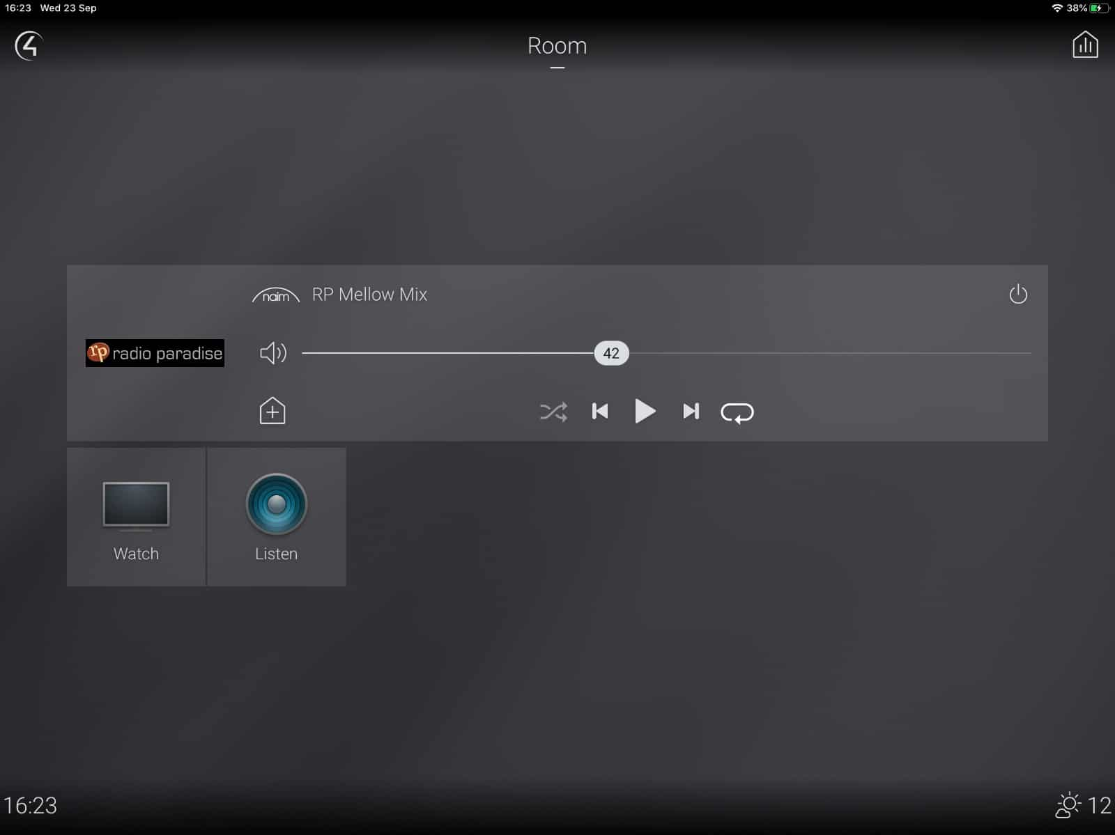 Control4 Naim Interface: Control