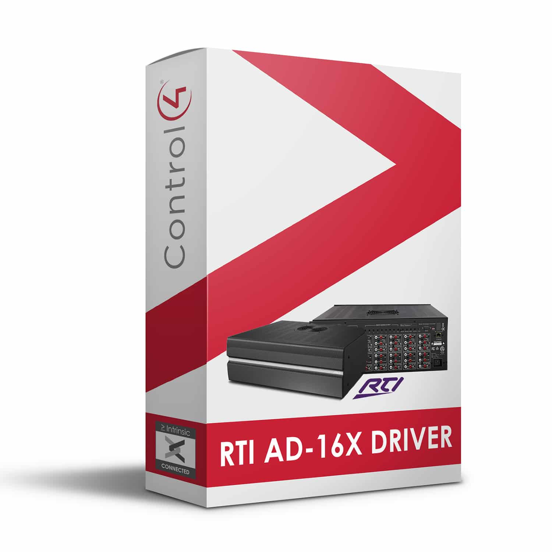 RTI AD-16x Driver for Control4