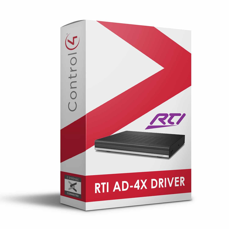 RTI AD-4x Driver for Control4