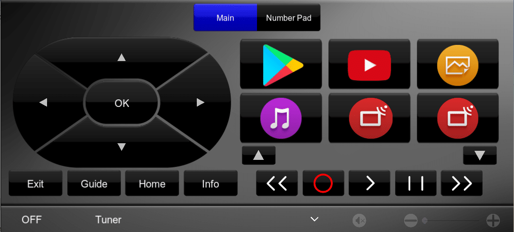 Sony Android TV Pro Driver Interface