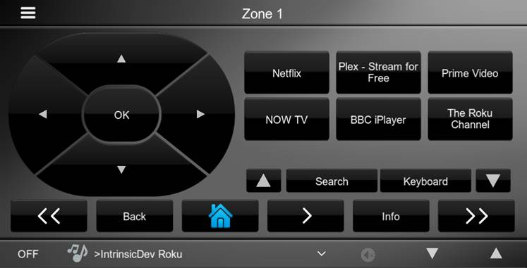 Roku Lite Driver Interface