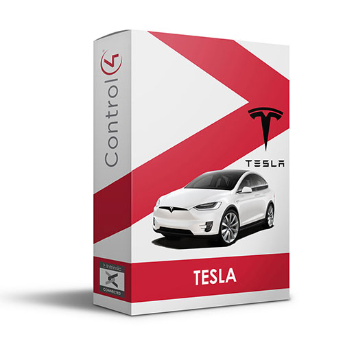 Tesla vehicle driver for Control4