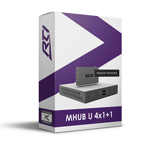 HDAnywhere mHub U 4x1+1 Driver for RTI