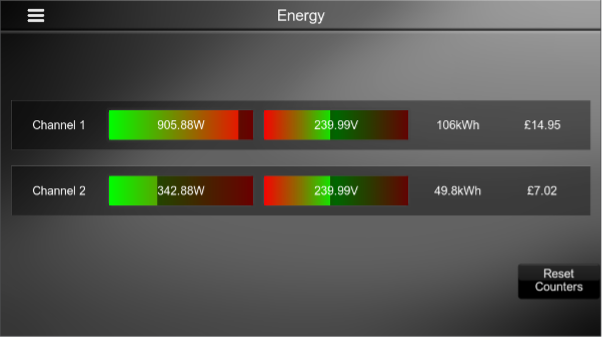 Shelly Energy Monitoring Driver for ELAN Interface