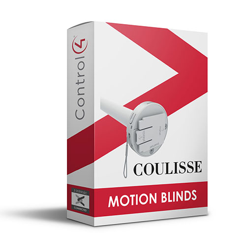 Coulisse Motion Shades Driver for Control4